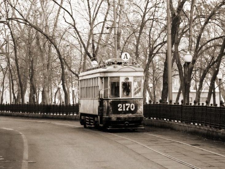 Фото №29 Один из первых московских трамваев