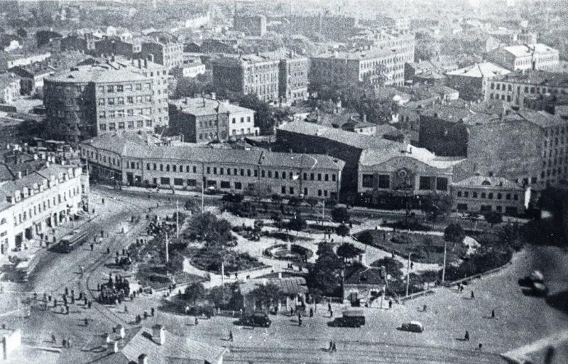 Фото №31 Таганская площадь, 30-е годы